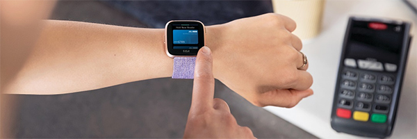 Fitbit Pay promotes contactless payments