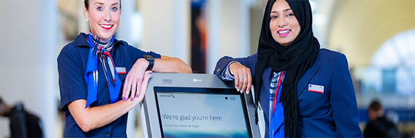 American Airlines to introduce touchless check-in kiosks