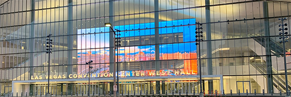 Las Vegas Convention Center upgrades with Samsung digital signage