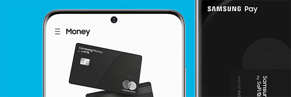 Samsung officially launches co-branded SoFi account