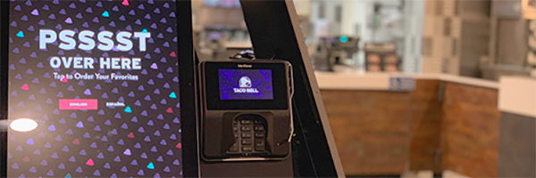 Elo recognizes Taco Bell for deploying kiosk technology in nationwide rollout