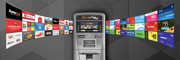 GivePay Gift Card Mall offers new revenue source for retail ATMs