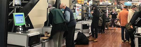 NYC Fairway Market installs self-checkout kiosks