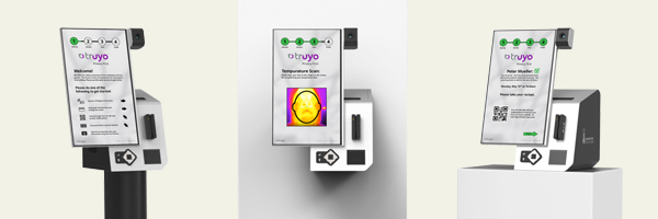 IntraEdge and Pyramid introduce privacy oriented self-check temperature kiosk