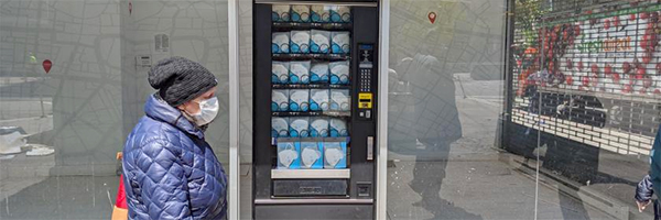 Face mask vending machines expand worldwide, including US