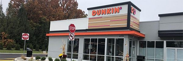 Dunkin' opens store with digital kiosk ordering
